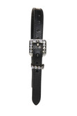 Ladies Bling Stitched Spur Straps with Crystals