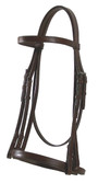 Fine Stitched Classic Weymouth Bridle -Complete with Reins