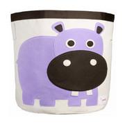 3 Sprouts Storage Bin - Hippo