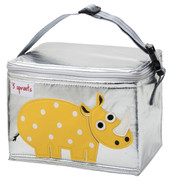 3 Sprouts Lunch Box - Yellow Rhino