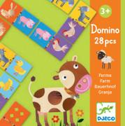 Djeco Domino Farm Game