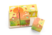 Le Toy Van Petilou All Seasons Cube Puzzle