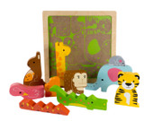Kiddie Connect Wild Animal Puzzle