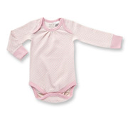 Sapling Dusty Pink Long Sleeve Bodysuit