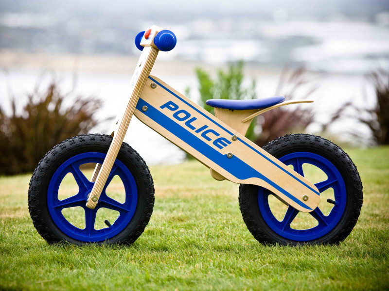 Home toys play indoor and outdoor police balance bike