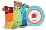 Kaloo Colors Doudou Bear Puppet Patchwork