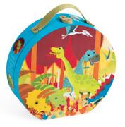 Janod Dinosaur Suitcase Puzzle