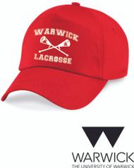 Warwick Uni Lacrosse Red Cap