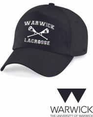 Warwick Uni Lacrosse Black Cap