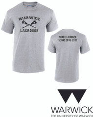 Warwick Uni Lacrosse Mixed 2016 Squad Tshirt