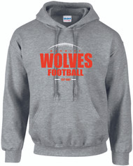 Warwick Uni American Football Wolves EST design hoody