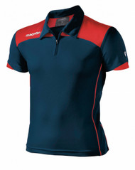Ilsley GCSE Logan Polo (Red/ Navy)