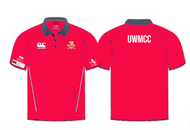 Warwick Uni Men's Cricket Red Polo