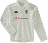 Overstone Park Cricket Club Long Sleeve Cream Junior Shirt
