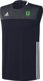Overstone Park Cricket Club Junior Black ClimaCool Sleeveless Tee