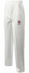 Northants Boys Team Cream Cricket Trousers