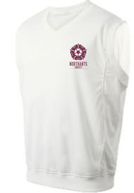 Northants Girls Team Cricket Sleeveless Pullover - (Junior)