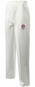 Northants Girls Team  Cream Cricket Trousers