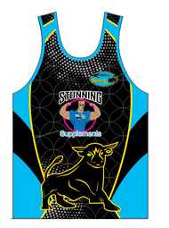 Stunts 7's Sublimated Vest - Black