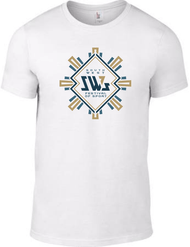 SW7 Large Graphic Logo 2 White T-shirt