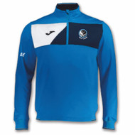 Holly Lodge Joma Crew II 1/4 Zip Sweatshirt - Mens