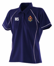 CAMP HILL RFC - F & HALES LADIES POLO SHIRT