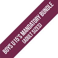 Northants Boys U15'S Team Mandatory Bundle (Adult Sizes)