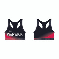 Warwick Uni Athletics Club Sports Bra