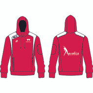 Warwick Uni Aerobics Club Ladies Red Hoody