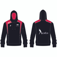 Warwick Uni Aerobics Club Ladies Black/Red Hoody