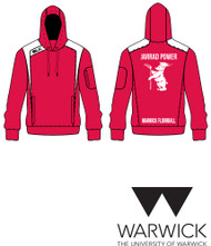 Warwick Uni Floorball Red Hoody