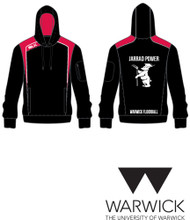 Warwick Uni Floorball Black/Red Hoody