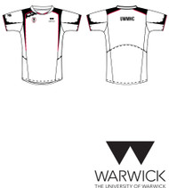 Warwick Uni Mens Hockey White Training Tee