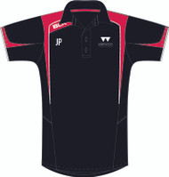 Warwick Uni Squash Mens Black Polo