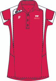 Warwick Uni Squash Ladies Red Polo