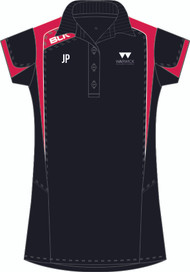 Warwick Uni Squash Ladies Black Polo