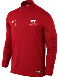 Warwick Uni Mens Football Nike Midlayer Top