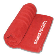 Warwick Uni Mens Football Bath Towel