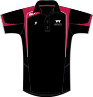 Warwick Uni Tennis Mens Black Polo