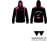 Warwick Uni Mixed Netball Mens Black Hoody