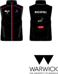 Warwick Uni Mixed Netball Mens Gillet