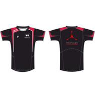 Warwick Uni Triathlon and Road Cycling Mens Black Training Tee