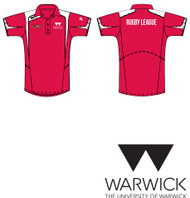 Warwick Uni Rugby League Red Training Polo
