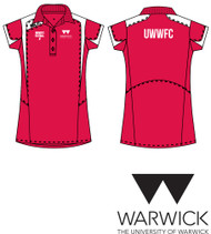 Warwick Uni Womens Football Red Training Polo