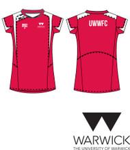 Warwick Uni Womens Football Red Training Tee