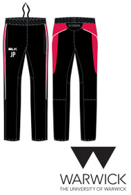 Warwick Uni Womens Football Track Pants