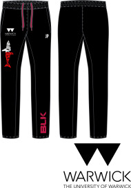 Warwick Uni Lifesaving Mens Sweatpants with initial