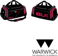 Warwick Uni Lifesaving Gear Bag with initials