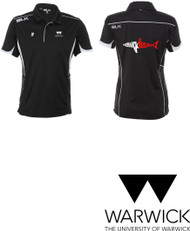Warwick Uni Lifesaving Mens Dry Fit Polo with initials