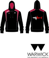 Warwick Uni Lifesaving Ladies Hoody with initials